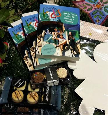 """Pralinen von Art of Chocolate als Dankeschön für eure Bestellung vom Buch """"Würzburg für Kids & Co"""""""