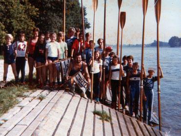 Rhein-Wanderfahrt 1976