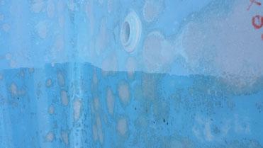 coque de piscine osmosée