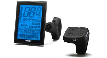 Der LCD Multifunktions Drive Controller kann mit den Yamaha e-Bike Antrieben genutzt werden