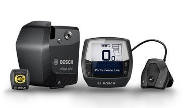Das erste ABS für e-Bikes von Bosch