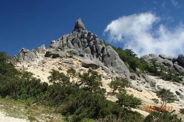 鳳凰山 登山 ガイド