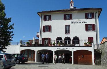 Der Treffpunkt in Seewis: Hotel Scesaplana