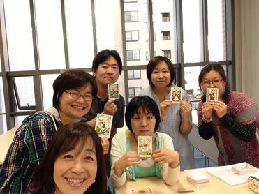 札幌でひらめくカード講座開催
