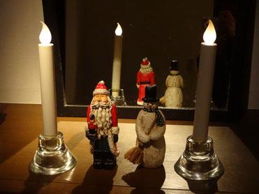 クリスマスの飾り、片付けるのさみしいなぁ。