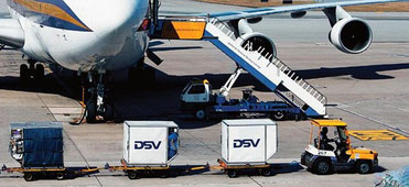 DSV offers customers three new air charter routes – Image: DSV