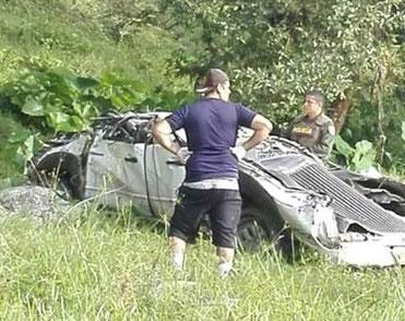 Foto Web Accidente Charalá 31 de Julio