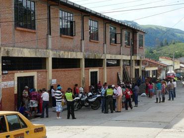 Casa de mercado Charalá