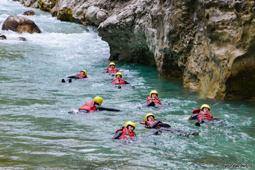 Aqua Trekking Verdon Grand Canyon, river hiking verdon, floating verdon, hiking verdon, hydrospeed verdon, swimming verdon