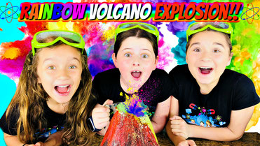 get epic, volcano experiment for kids, kids videos, science for kids