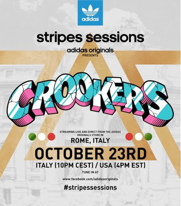 stripes sessions | Crookers