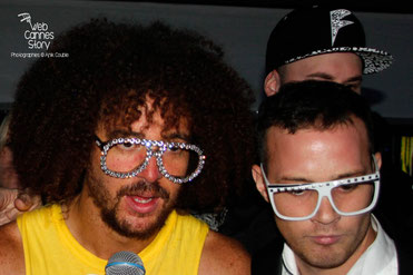 "REDFOO ET LMFAO en Concert chez ""TORCH"" - Festival de Cannes 2013 - Photo © Anik COUBLE"