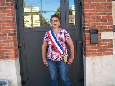 Brigitte Rahir réélue maire de Courboin.