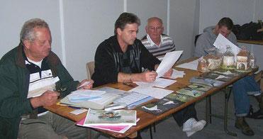 Le bureau, G Bailliet, Ch Carette, J Poncelet, St Wrobel