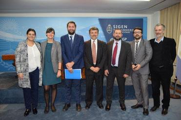 Ponentes de la Jornada de Presentación del Plan BIM de Argentina