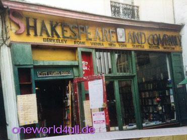 bild: Foto: , Lissy Gröner, Paris Shakespeare and Company