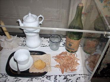 La madeleine dans la chambre de Tante Léonie