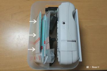 100均 マグネット付引き出し用仕切り 片付け 整理整頓