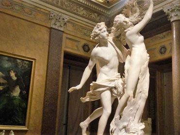 Аполлон и Дафна, скульптура Бернини