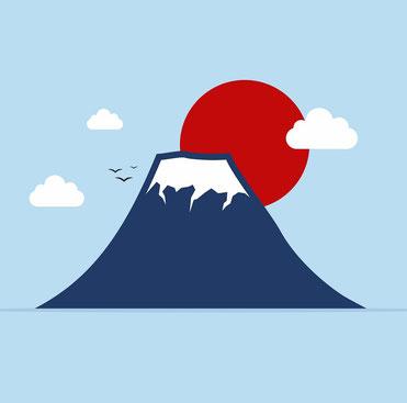 日本帰化と富士