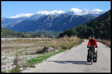 Turquie, voyage à vélo, Laetitia