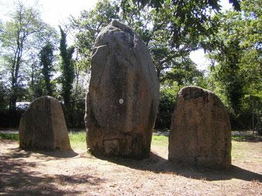 Alignement de la Pierre - Bois de Fourgon à Avrillé en Vendée