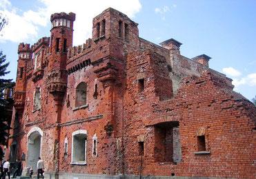 Здание крепости. Холмские ворота.
