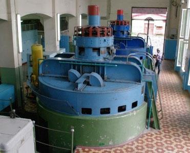 Гидроагрегаты Дзауджикаусской ГЭС