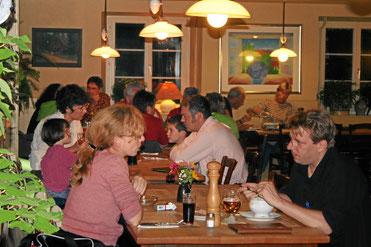 Bild: Gasthaus Hirschen, beliebt auch für Familienfeiern und Hochzeiten