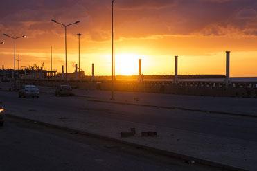 Tramonto a Bengasi
