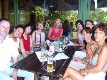 Das französische und deutsche Lehrerkollegium der Partnerschulen 2006