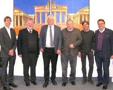 Der Geschäftsführende Vorstand des BDL (nicht auf dem Foto: Dr. Th. Lorentz)
