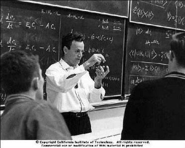 Richard Feynman.