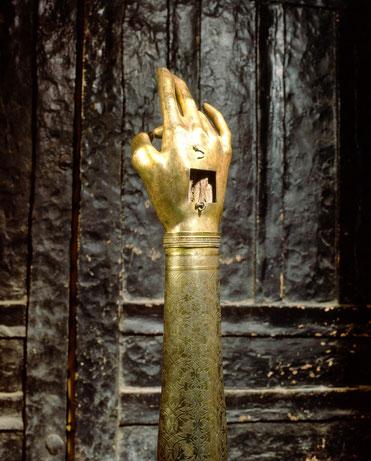 Relique du bras droit de saint Jean-Baptiste