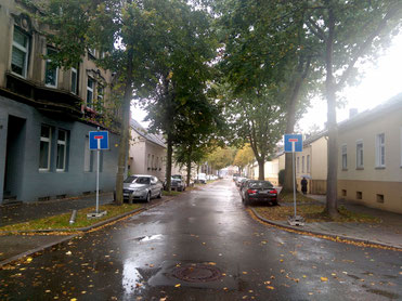 Virchowstr. in Richtung Bochumer Straße - Foto: © W. Müller