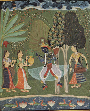 lord-krishna-vasant-raga-indian-miniature