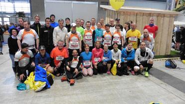 Die Läufer vom Team leistungsdiagnostik.de vor dem Start