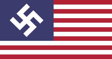 """Flagge der ehemaligen US-Territorien des """"Greater Nazi Reich"""""""