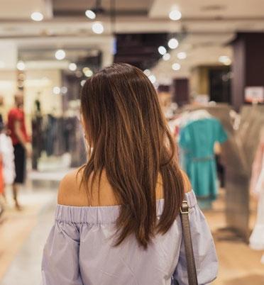 Personenzählung und Besuchersteuerung für Geschäftsflächen