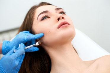 Bruxismus Therapie und Verschmälerung der Gesichtsform durch  Botox