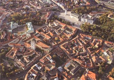 Vilniaus senamiestis. Nuotr. autorius nežinomas / Vilnius Old Town. Unknown author.