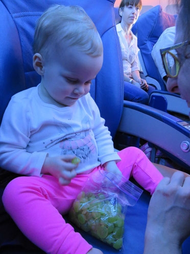 Baby flight travel