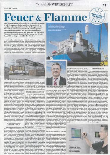 """Artikel """"Feuer und Flamme"""""""