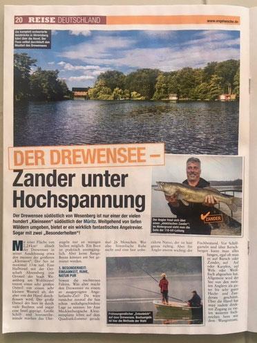 Angelwoche, Blinker, Angelzeitschrift Deutschland