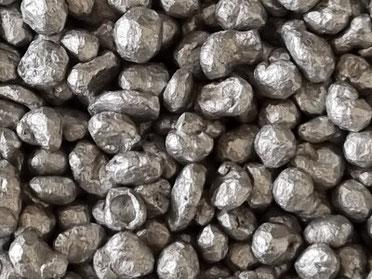 Aluminiumstrahlmittel, Aluminiumkugeln, Strahlmittel, Alu, Mehrwegstrahlmittel, metallisch, Aluminiumteile, Zinkdruckguss