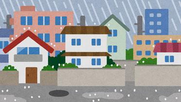 雨漏りの画像