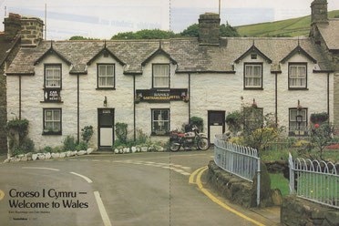 Das Garthangharad Hotel in Greystones, Llwyngwril.