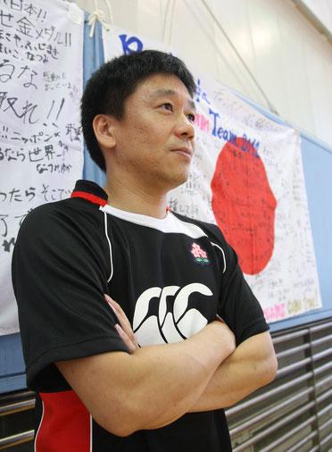 2012年 ロンドンパラリンピック 車いすラグビー 日本代表監督 岩渕典仁