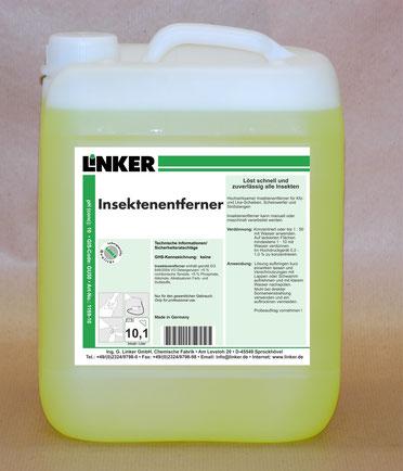 Insektenentferner_Linker Chemie-Group, Reinigungschemie, Reinigungsmittel, Allesreiniger, Allzweckreiniger
