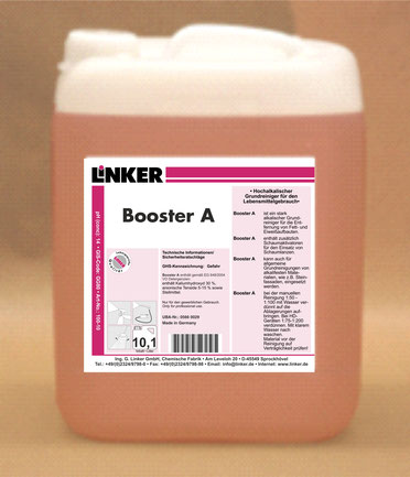 Booster A, Linker-Chemie